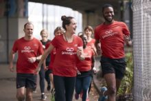 An organisation that aims for people to get fit by doing good deeds is coming to Liverpool.