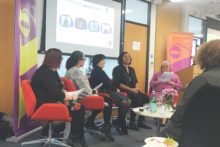 Issues of gender inequality came to the fore at an International Women's Day event.