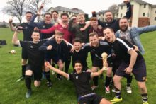 Level 3 clinched their third JMU Journalism World Cup win in a row with a 5-1 victory against Level 1.