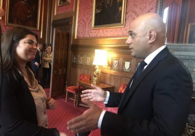 Exclusive: Home Secretary Sajid Javid talks to JMU Journalism about the new UK Police Memorial project.