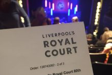 Liverpool's Royal Court Theatre celebrated eight decades of shows with a special one-off variety performance.