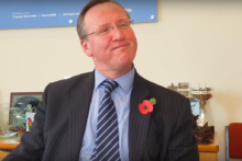 The Leader of Wirral Council, Phil Davies, has spoken of his surprise decision to quit politics next year.