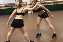 A celebration of 100 years since women first won the right to vote has been marked with a new dance show.