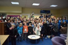 A Bootle youth organisation celebrated its first birthday in style by putting on a party.