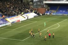 A third round tie against Tottenham awaits the winner of the FA Cup replay between Southport and Tranmere.