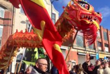 Thousands made their way to Chinatown to celebrate Chinese Year of the Pig in spectacular fashion.