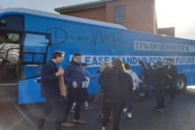 A youth campaign group has been out in Liverpool to raise awareness of the effects of Brexit.