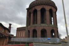 Everton's iconic Water Tower has today been sold at auction for £71,000.