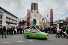 St Patrick's Day returned to the city with thousands of people in high spirits.
