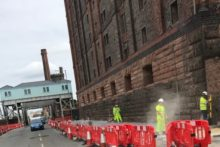 Liverpool's historic Dock Road is set to undergo a facelift as radical upgrades begin.