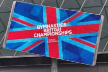 The country's best gymnasts arrived at Liverpool's M&S Bank Arena for the annual British Championships.