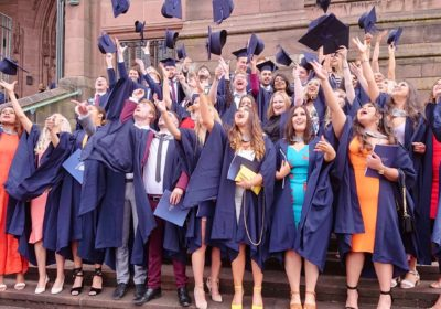 Liverpool's Anglican Cathedral hosted the ceremony as the Class of 2019 celebrated graduation day.