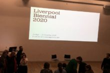 The director and curator of the Liverpool Biennial Festival 2020 gave a talk on the show's inspiration.