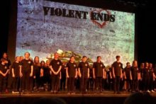 Knowsley schoolchildren staged Shakespeare's Romeo and Juliet to support the #NoMoreKnives campaign.