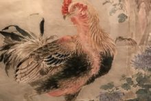 The forgotten works of Japanese artist, Taki Katei, now hang on the walls of Liverpool's World Museum.