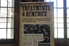 A new exhibition highlighting one of the deadliest epidemics of the 20th Century has come to the city.
