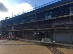 Construction has begun for the next phase of the Huyton Village project