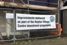 The next phase of Knowsley Council's Huyton village regeneration plan is currently underway.