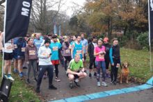 Almost 400 racers, young and old, turned up at Croxteth Park to take part in the MoRun.