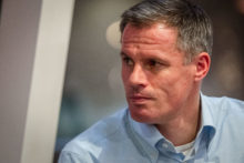 Jamie Carragher was the main speaker for Liverpool Homeless Football Club's first Business Club event