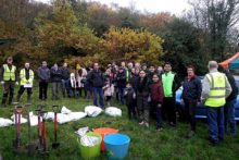 More than 300 trees were planted to commemorate the 30th anniversary of Friends of Storeton Woods.