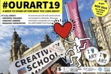 A week of art-related events celebrating creativity is coming to Liverpool and other parts of the UK.