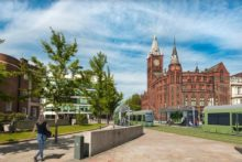 Proposals are taking shape for a new 'trackless electric tram' centred around Liverpool's Knowledge Quarter.