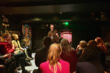 A new book has been released to mark the year anniversary of a spoken word poetry event.