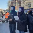 An 'Earthling's Experience' was staged in the city centre to try to encourage a more positive view of veganism.