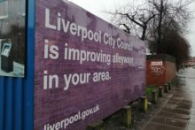 A £6 million change is underway to help regenerate some of Liverpool's most dirty areas.