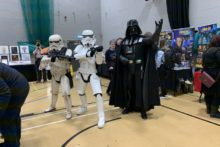 Sci-fi and Marvel fans were out in force as the first Knowsley Comic Con took place.