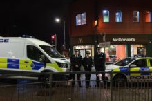 A police crackdown on anti-social behaviour has begun in Birkenhead as they enforced a dispersal zone.