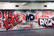 A St Helens hip hop crew has launched an exciting and eye-catching new graffiti project.
