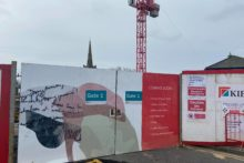 Work on Prescot's Shakespeare North Playhouse is back on track after delays earlier this year.