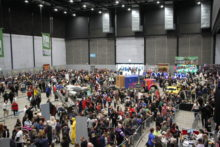 Hundreds of people turned up at the Exhibition Centre for Liverpool's annual Comic Con event.