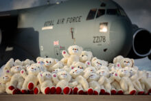 A thousand teddies are to be given to military children whose parents are going through deployment this Christmas.
