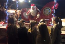Crosby Rotary Club have decided the coronavirus pandemic is not going to stop santa spreading the festive spirit.