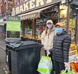 An Aigburth baker has come up with a clever incentive to tackle the growing litter problem in the area.