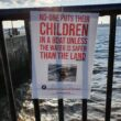Posters have appeared around the city centre to mark alliance with asylum seekers, migrants, and refugees in Liverpool.