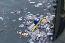People are being asked to keep Liverpool clean after worrying amounts of litter are being left at the waterfront.