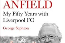 Liverpool FC's stadium announcer is releasing a book to celebrate his 50 years working for the club.