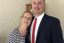 A man from Southport is raising money following the tragic death of his mum.