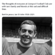 Former Liverpool and Scotland forward Ian St John has died at the age of 82 following a long illness.