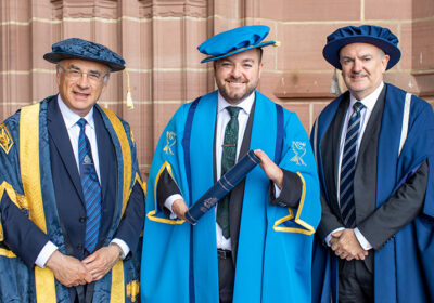 Journalism graduate Alex Brooker will be the face of Channel 4's Paralympic Games coverage.