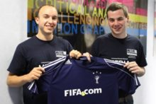 Two JMU Journalism graduates have been given full-time jobs by FIFA after impressing on temporary World Cup contracts.
