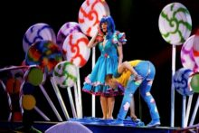 Pop princess Katy Perry put on a show that was good enough to eat as her California Dreams tour came to the Echo Arena.