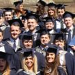 The JMU Journalism Class of 2012 celebrated graduation with a ceremony at Liverpool's Anglican Cathedral.
