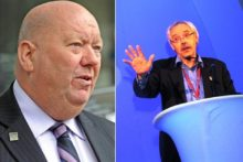 City budget plans have broken down after a bitter email row between Mayor Joe Anderson and Lib Dem leader Richard Kemp.