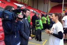 JMU Journalism graduate Chris Shaw blogs about his work for football's governing body FIFA and Liverpool FC.