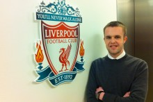 Class of 2013 graduate Joel Richards blogs about finding work with Liverpool FC.